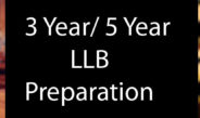 3 Year/ 5 Year LLB Preparation